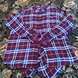 Hot plaid Lucky top❤️